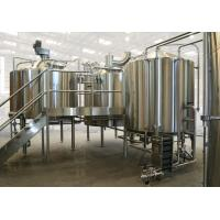 Commercial Apple Juice Processing Line 3000-8000 BPH Stainless Steel Material