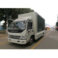 Quality P6 LED Advertising Truck Single Side LED Full Color Screen VGA Synchronous Control wholesale