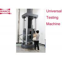 Quality Static Hydraulic Universal Testing Machine , Tensile Strength Apparatus For Lab wholesale