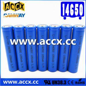 Cheap cordless telephone battery ICR14650 3.7V 1050mAh li-ion batteries 14650, 14500, for sale