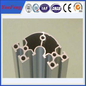 China electrophoretic aluminum profile manufacturer OEM aluminium t-slot extrusion profiles on sale