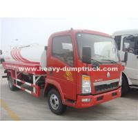 Buy cheap Light Duty 10CBM  Water Tank Truck Sinotruk With Left Hand Driving Steering product