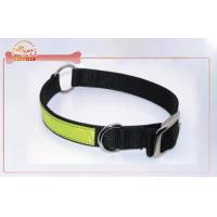 Cheap Heavy Duty Dog Collars , Reflective Nylon Dog Collars And Leads for sale