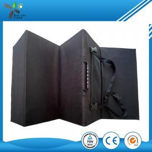 China Highly Portable Foldable Solar Panel 120W , Folding Solar Panels For Motorhomes on sale