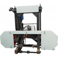 Buy cheap HOT SALES!!! Portable Diesel Engine Mobile Band Sawmill /Horizontal bandsaw Mill from wholesalers