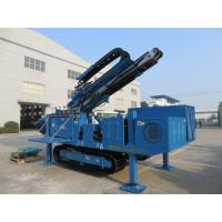 Quality Big Torque Rotary Drilling Rig , High Rotary Speed Ground Drilling Machine Ceawler Mounted wholesale