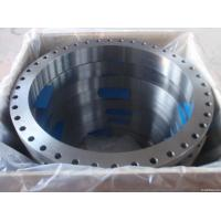 China ASTM A105 Carbon Steel Forged Flange CE BV SGS , UNI JIS BS Flange For Pipe Fittings on sale