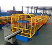 Quality High Strength Gutter Cold Roll Forming Line Seamless Gutter Machine , Downspout Machine wholesale