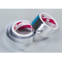 China Self Adhesive Aluminum Foil Tape , Aluminum Foil Duct Tape For Insulation Material on sale