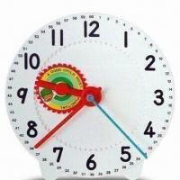 China Large Geared Clock with 28cm Diameter and Easy-to-read Large Numbers on sale