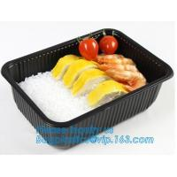 Quality takeaway food container disposable plastic lunch bento box,square PLA plastic food container,fast food package essential wholesale