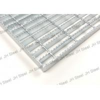 Quality Tooth Like Serrated Galvanized Steel Grating Panels For Petroleum / Chemical wholesale