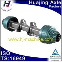 Quality American type trailer axle wholesale