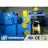 Quality Triple Layer Concentric Cable Taping Machine Speed Up To 2200RPM PLC Control wholesale