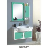 Quality hung  cabinet / PVC bathroom vanity / wall cabinet / whitecolor for bathoom kitchen 80 X49/cm wholesale