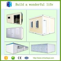 Quality Prefabricated australia expandable steel structure 20ft container house office in china wholesale