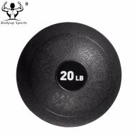 Quality PVC With Sand Material Gym Exercise Ball Medicine Ball Customized Logo wholesale