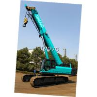 Cheap Telescopic Hydraulic Crawler Crane with Cummins Engine , 0 ~ 2.0 r/min Slewing speed for sale