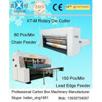 Quality Mechanical Die-Cutter Flexo Printing Machine , Vacuum Feeding Machine wholesale