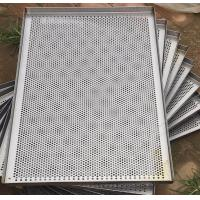 Quality Metal Perforated Wire Basket Cable Tray , Stainless Steel Baking Sheet For Food Processing wholesale