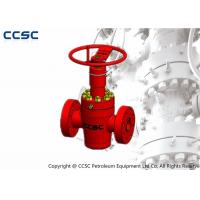 Quality API 6A High Pressure Gate Valve Size Ranging From 1 13/16-9 Material Class AA-HH wholesale