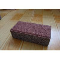Buy cheap Clay Material Permeable Driveways Products , Block Paving Edging Bricks from wholesalers