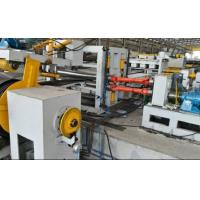 Quality Automatic Taper Cutting Machine , 12000mm Street light pole production line wholesale