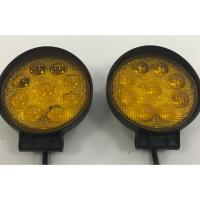 Quality 4D 42W Vehicle LED Work Lights 12v / 24v Offroad 4.5 Inch Round LED Lights wholesale