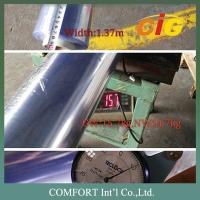 Buy cheap Thickness 0.07mm - 5.0mm PVC Transparent Film Green / Blue / Crystal Color Tone product