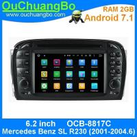Quality Ouchuangbo android 7.1 for Mercedes Benz SL R230 (2001-2004.6) Touch Screen Auto audio Player MP4 MP5 USB SD MP3 wholesale