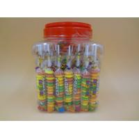 Quality Different Shape Bottled Fruity Hard Candy Raspberry / Strawberry / Mango Candies wholesale