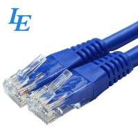Quality F / UTP Network Patch Cord Al - Foil Shielded Twisted 4 Pairs CAT6 With PVC Jacket wholesale