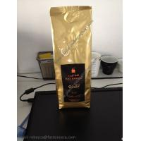 China Gravure Printing Customized Aluminum Foil Side Gusset Coffee Pouch on sale