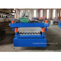 China 984 988 Roof Panel Roll Forming Machine / Sheet Metal Rolling Machine 8.5kw on sale