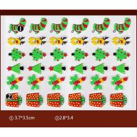 Quality Christmas Gift PET Chocolate Transfer Molds For Christmas Party Cupcake Toppers wholesale