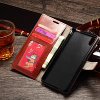 Quality Sony M4 Aqua Durable Sony Xperia Leather Case Wallet Stand Handmade Anti - Dirt wholesale