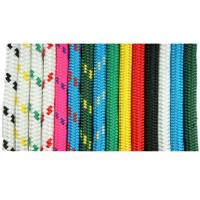 Quality 9.525mm Nylon double braid dock line yacht rope code from China factory wholesale