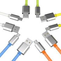 China Micro Usb Charging Data Cable Muticolor for Android Device Samsung VIVO Huawei Phones on sale