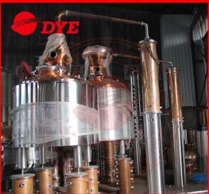 Quality Common Alcohol Distiller Apparatus , Moonshine Pot Still Distillation wholesale