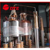 Quality Stainless Steel Alcohol Distiller Equipment Industrial , Pot Still Whiskey wholesale