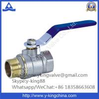 China 600wog Brass Ball Valve with Butterfly Handle on sale