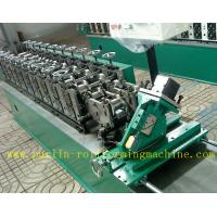 Quality Hollow Runner Metal Stud And Track Roll Forming Machine for T Guide Track Panasonic PLC Control Atos Valve wholesale