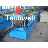 Quality Single Side Adjustable C Purlin Roll Form Machines With Manual / Hydraulic Decoiler wholesale