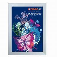Quality A3 Snap Poster Frames Silver Lightweight Durable Rigid Plastic Sheet wholesale