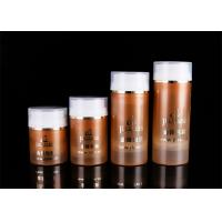 China 30ml 50ml 100ml 120ml Cosmetic PP Airless Bottle With Transparent Cover on sale