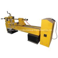 Cheap CNC Wood Turning Broaching Engraving Machine with Single Axis Double Blades for sale