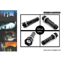 China 10W High Power LED Flashlight Torch Rechargeable 2200mAh Li - Ion Battery on sale