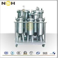 China Portable Vacuum System Oil Purifier Machine / Oil Filtration Plant Explosion Proof on sale