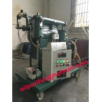 Quality Vacuum Transformer Oil Purifier with moisture tester, Insulation oil purification System ,CE ,ISO energy saving product wholesale