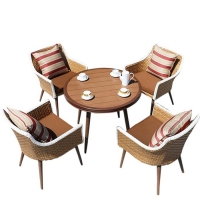 Quality Wicker Leisure Patio Table Chairs OEM Outdoor Garden Furniture wholesale